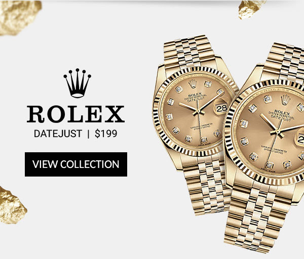 Replica Rolex Datejust Gold Lady